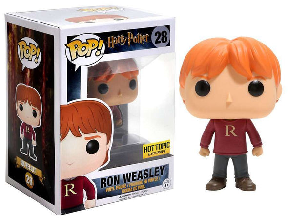 Harry Potter - Ron Weasley (Varsity Sweater) Exclusive Pop! Vinyl Figure