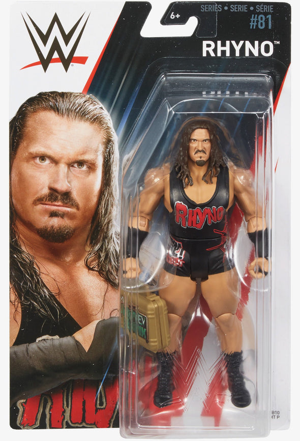 WWE Series 81 - Rhyno with MITB Case
