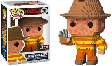 8-Bit - Nightmare on Elm Street Freddy Krueger (NES Colours) Exclusive Pop! Vinyl Figure