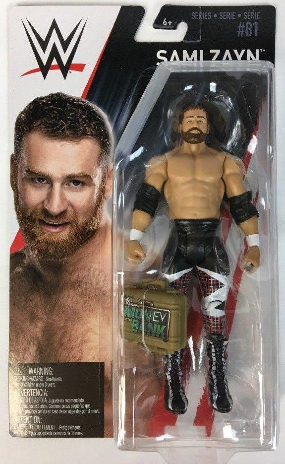 WWE Series 81 - Sami Zayn with MITB Case