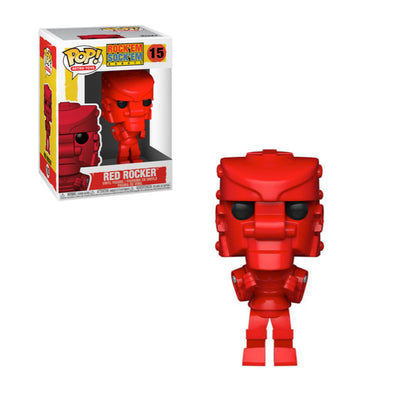 Retro Toys - Rock Em Sock Em Robot Red Rocker Pop! Vinyl Figure
