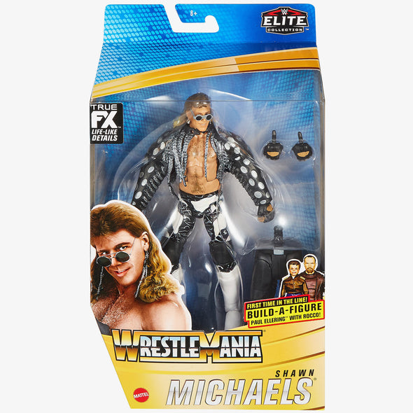 WWE WrestleMania 37 Elite Series - Edge, Chyna, Goldberg, and Shawn Michaels (Set of 4)