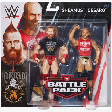 WWE Battle Pack Series 49 - Sheamus and Cesaro (The Bar)
