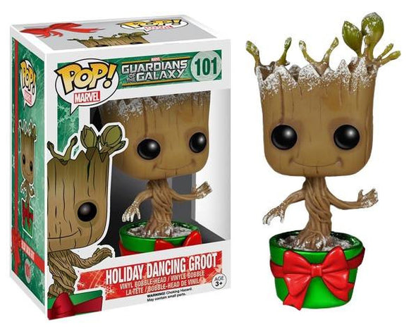 Guardians of the Galaxy Holiday Dancing Groot Pop! Vinyl Figure
