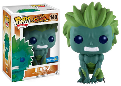 Street Fighter - Blanka (Green) Exclusive POP! Vinyl Figure