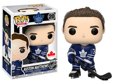 NHL - Maple Leafs Auston Matthews (Home Jersey) Pop! Vinyl Figure