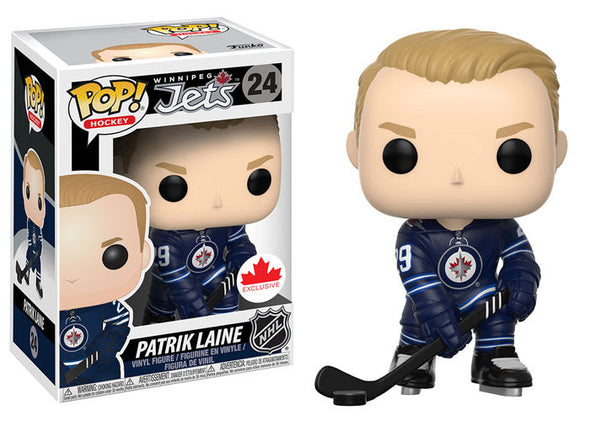 NHL - Jets Patrik Laine (Home Jersey) Pop! Vinyl Figure