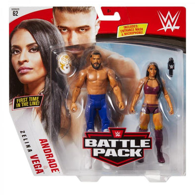 WWE Battle Pack Series 62 - Andrade & Zelina Vega