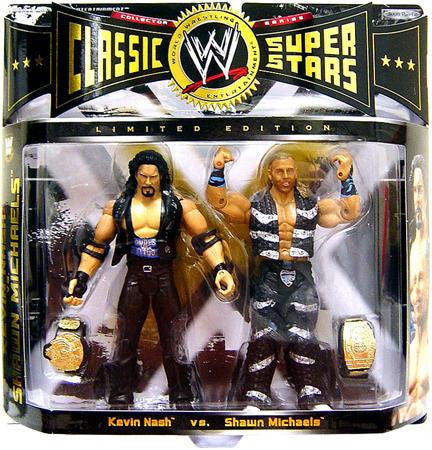 WWE Classic Superstars Elite - Kevin Nash vs. Shawn Michaels 2-Pack Exclusive