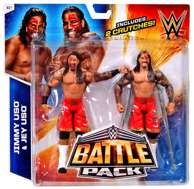 WWE Battle Pack - The USOs /w crutches