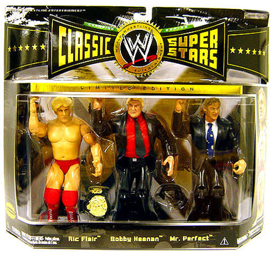 WWE Classic Superstars Elite - Ric Flair, Bobby Heenan, & Mr. Perfect