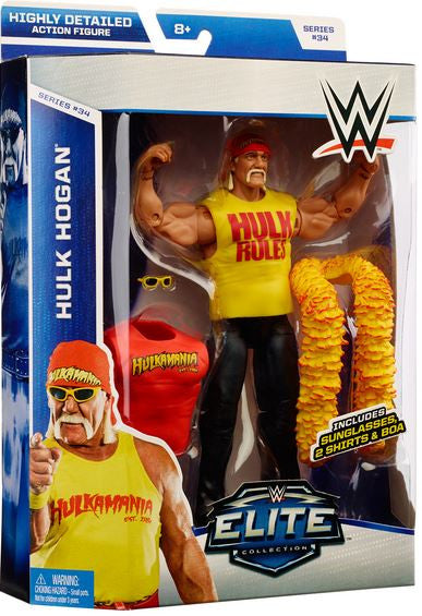 WWE Elite Series 34 - Hulk Hogan
