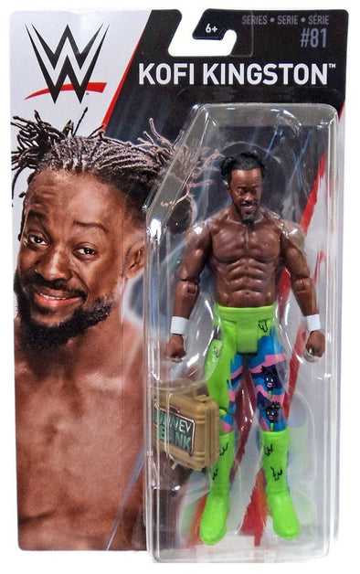 WWE Series 81 - Kofi Kingston with MITB Case