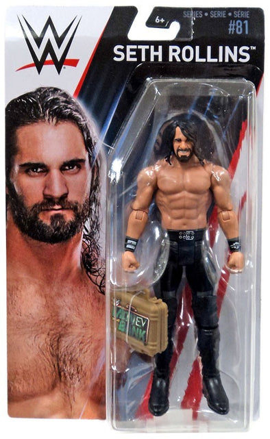 WWE Series 81 - Seth Rollins with MITB Case