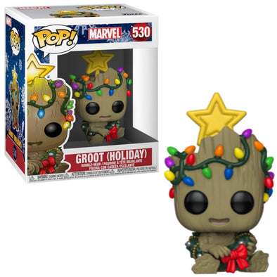 Marvel Holiday - Groot Toddler with Lights (2019) POP! Vinyl Figure