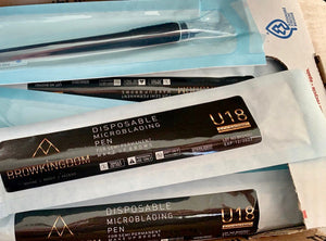 15 Disposable Microblading Pens - U18