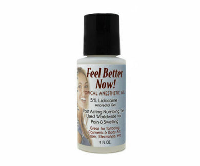 Feel Better Now Topical Anesthetic Gel - 1oz Bottle