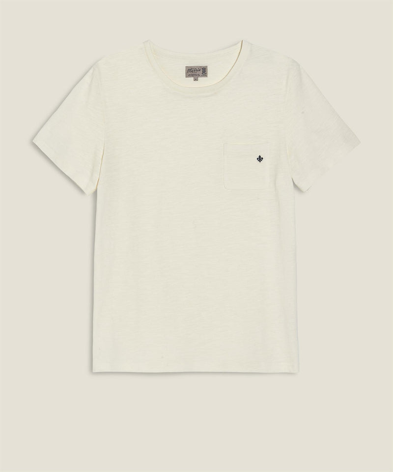 Lily tee Off white