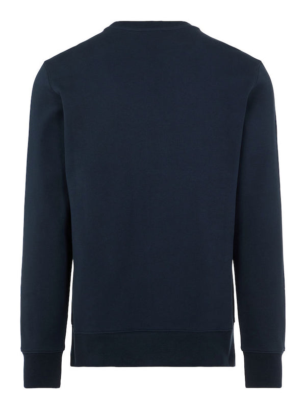 Throw C-neck Sweatshirt Marine