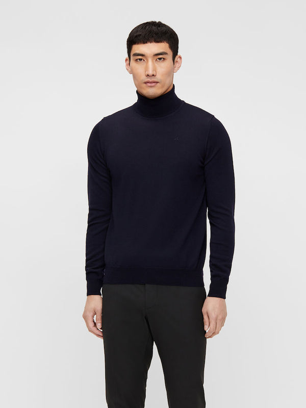 Lyd Merino Turtleneck Sweater Marine