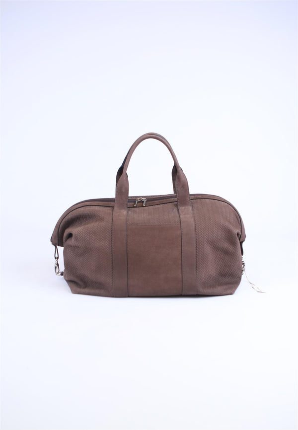 Weekend bag Lysebrun