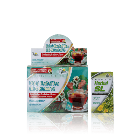 Anti – Gas: DG-S Herbal Tea + SL Herbal