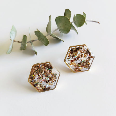 To the sea Galaxy Studs: Small Hexagon