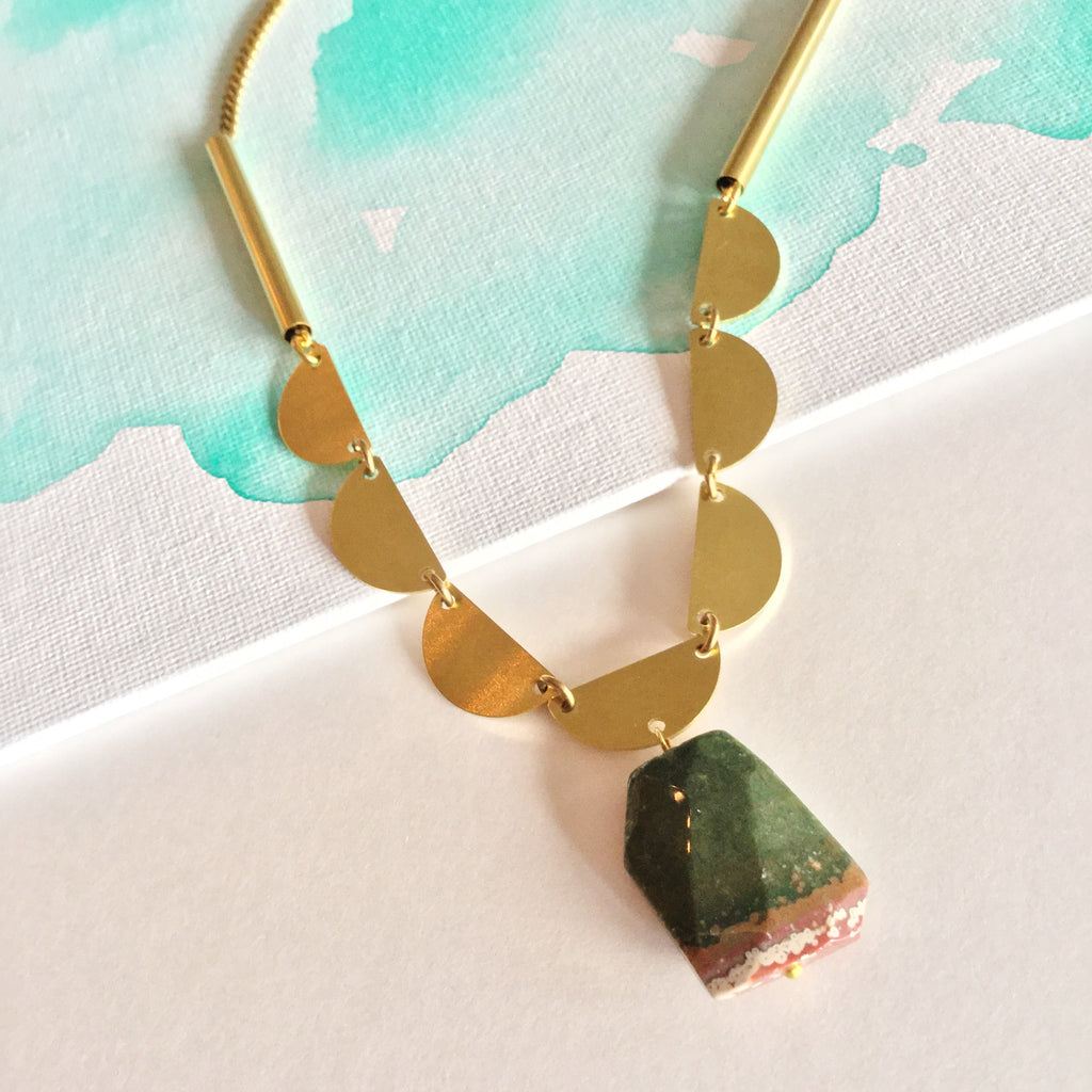 Sedona Necklace: Jasper