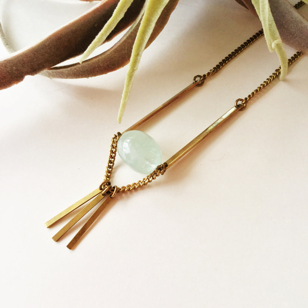 Winter Blues Sale: April Necklace