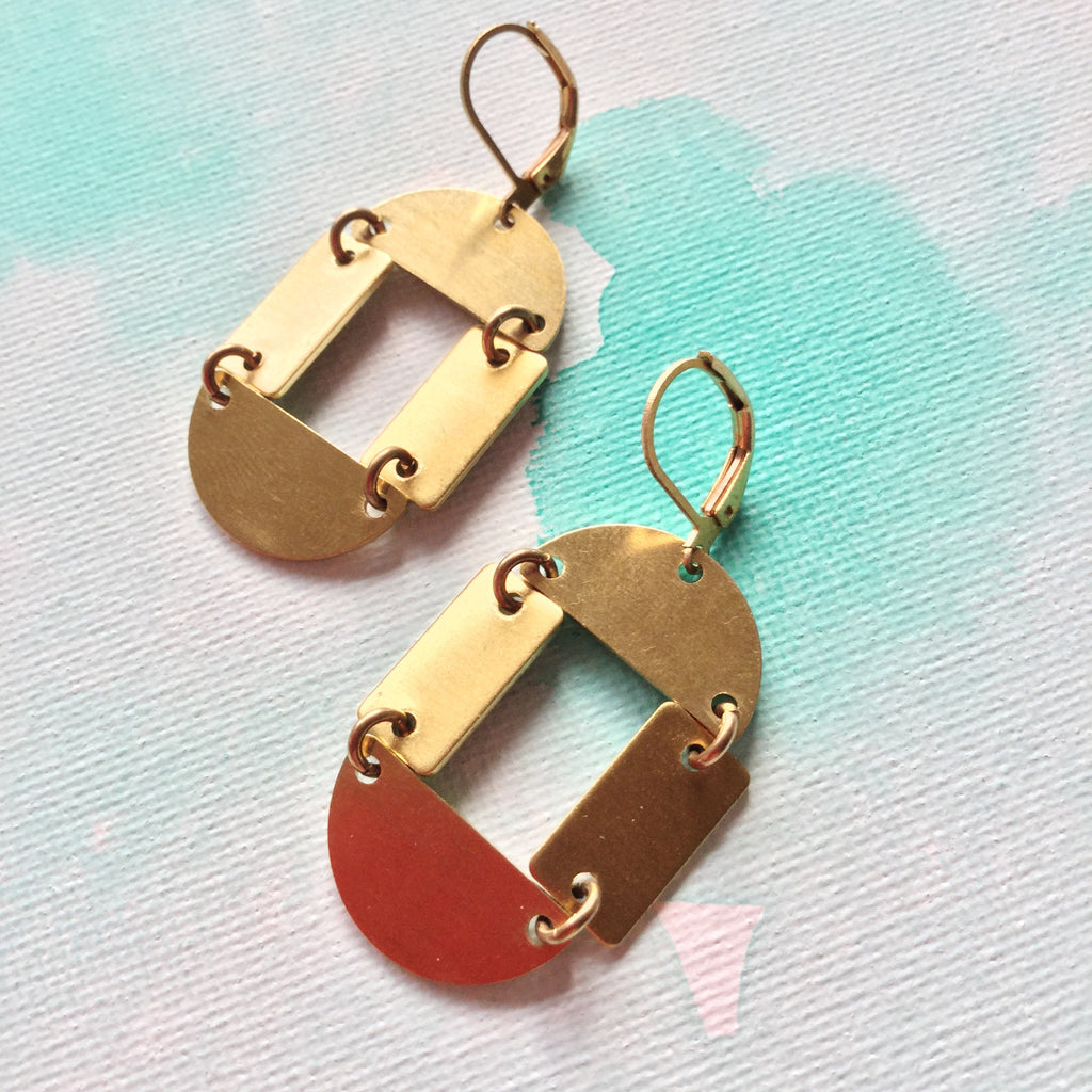Maya Short Earrings