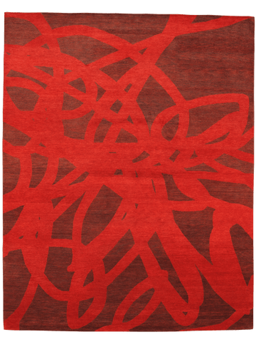 Scribble red image