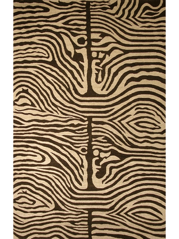 Zebra chocolate image