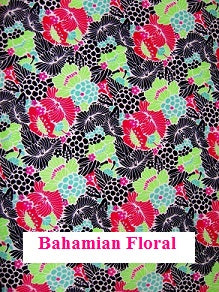 Bahamian Floral Fabric