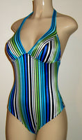 Halter High back One Piece