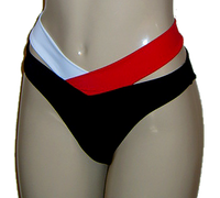 Strappy High Waisted Bikini Bottoms