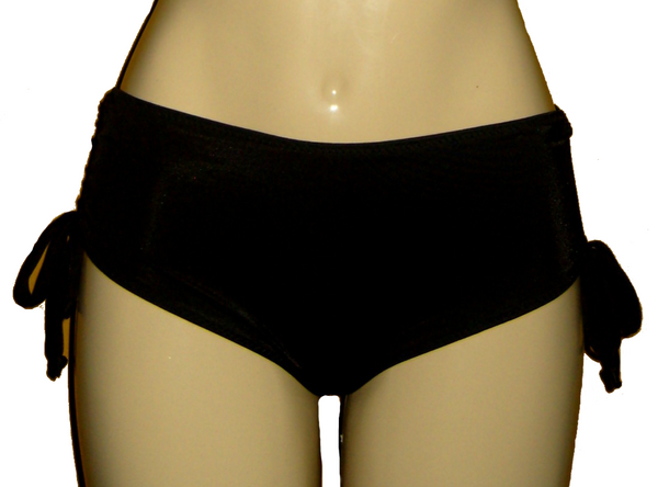 Adjustable string side bikini bottom