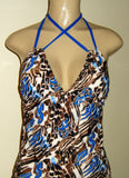 Double Tie tankini swimwear
