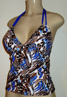 Double string tankini swimwear. Tankini swinsuit