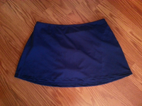 Navy Skirt Bottom