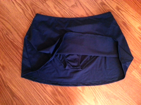 Navy swimskirt. Skirt bottom