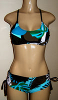 Sporti Bikini Crisscross back top and Bombshell adjustable side bikini bottom