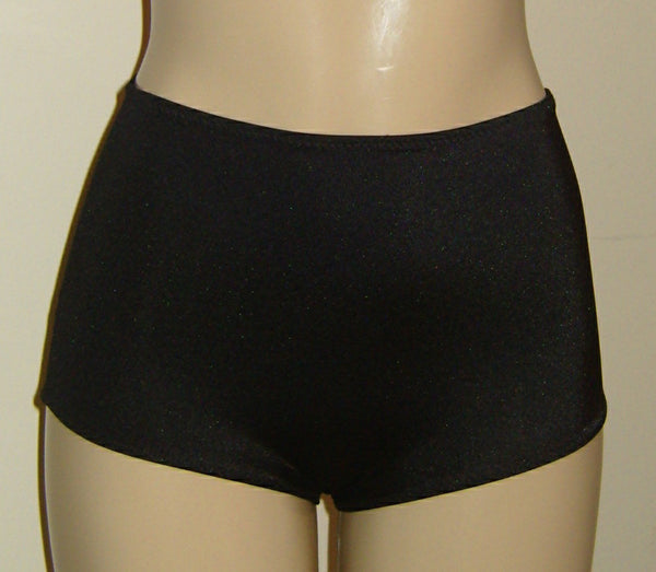 Pin up bikini bottom in black