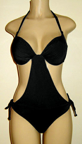 Push up halter monokini AA, A, B, C, D, DD, DDD, E, EE, F cups