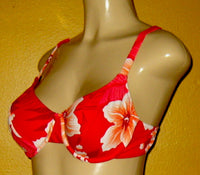 Women's bikini tops for fuller bust sizes. Underwire swimwear tops