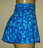 Flared skirt high waist swim bottoms