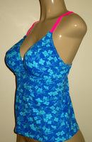 V neck tankini top side