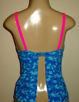 V neck tankini top back
