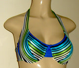 Halter underwire swimwear top