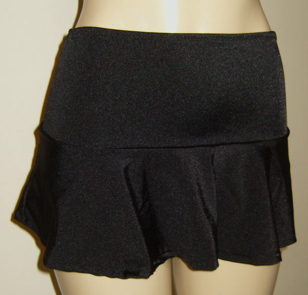 Ruffle swim skirt bottoms for women