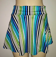 Bathing suit bottoms. Skirted bathing suits